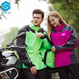 $enCountryForm.capitalKeyWord Australia - POLE riding raincoat motorcycle men and women split-type motorcycle travel raincoat suit waterproof adult