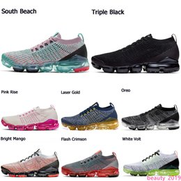 bright fly UK - 2020 Fashion Triple white black Running Shoes Fly 3.0 Women Men South Beach Pure Platinum Bright Mango Mens Trainer Sneakers Jogging shoes