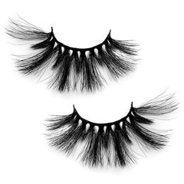 Mink False Eyelashes Extension Australia - ELECOOL NEW 3D Mink Hair False Eyelashes Wispy Cross Eye Lashes Fluffy Handmade Extension Mink Eyelashes