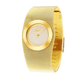 Watch steel japan movt online shopping - Ladies Full Steel Gold Bracelet Watch Japan Movt Quartz Watch Woman Dress Wristwatch MX190720
