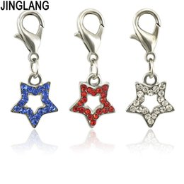 lucky charms gifts Australia - JINGLANG Pentagram Charm Pendant Valentine Charms Jewelry As Women Party Collar Lucky Gift Wholesale