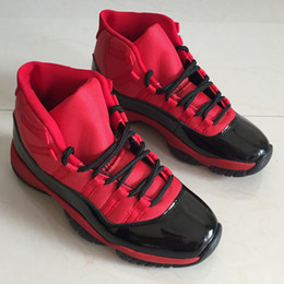 sports shoes 00526 e76b2 2019 Nuevo 11 Retro bajo alto XI 11s PRM Heiress Black Stingray Rojo  Chicago Hombres zapatos de baloncesto de aire deportes fuerza Sneaker us7-13