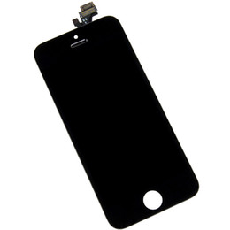 Lcd Wholesaler UK - Screen For iPhone 5 5G A1428 A1429 A1442 LCD Display Touch Screen Assembly With Digitizer For Apple 5 5G lcd