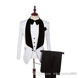 $enCountryForm.capitalKeyWord Australia - Real Photo Groomsmen Shawl Lapel Groom Tuxedos One Button Men Suits Wedding Prom Dinner Best Man Blazer (Jacket+Pants+Bow Tie+Vest) K780