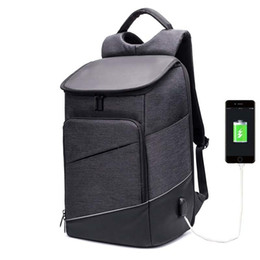 "China Hot Sale Men Laptop 15"" Backpack External Usb Charge Swiss Computer Backpacks Anti-theft Backpack Waterproof Bags For Men Women Y19061102 supplier swiss laptop suppliers"