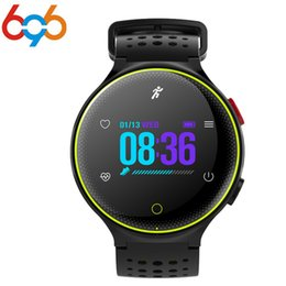 colourful watches NZ - 696 Colourful X2 Plus Sport Fitness IP68 Waterproof Smart Watch Bracelet Wrist Band Heart Rate Monitor Blood Pressure Oxygen