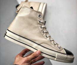 Wholesale 2019 Classic 1970s FOG Chuck 70 Men Women High Tops Taylor Canvas Casual Shoes Without Box