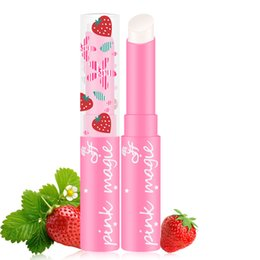 $enCountryForm.capitalKeyWord UK - 2017 Pop 1pcs Brand Makeup Pink Baby Lips Nude Lipstick Cosmetics Waterproof Jelly Lips Balm Moisturizering Lip Care