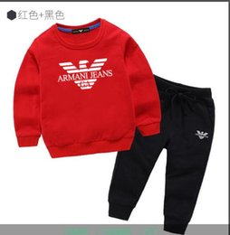 christmas clothes Australia - 2020 Brand boy and girl suit sportswear sweater clothing set best selling fashion spring and autumn children's long-sleeved sweater k1