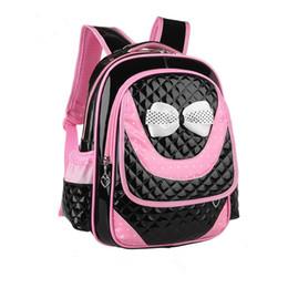 Cute Waterproof Bag Australia - Children School Bags Set High Quality School Backpack For Girls Waterproof Satchel Kids Book Bag cute bow ruceksack mochila #123864