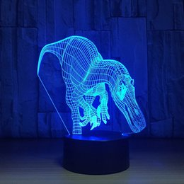 $enCountryForm.capitalKeyWord NZ - 3D USB Modelling Table Lamp LED Night Lights 7 Colors Change Bedroom Home Decor Gifts Fixture Interesting Luminous Toy JK0105