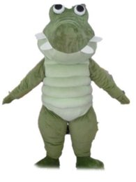 CroCodile Costumes online shopping - 2018 factory hot an adult green crocodile mascot costume for adult to wear for party