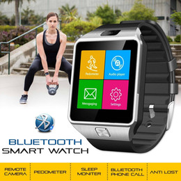 Bluetooth Smart Watch Sim Australia - Bluetooth DZ09 Smart Watch For Android 8 HTC Samsung iPhone X iOS Camera SIM Intelligent mobile phone watch can record the sleep state