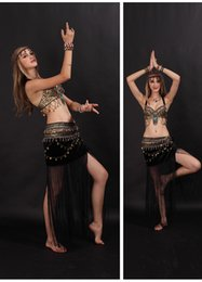 Royal Performance Suits Australia - Pearl Nation Tribe Latin Belly Dance Dress Skirt Performance Belly Dance Suit Wholesale