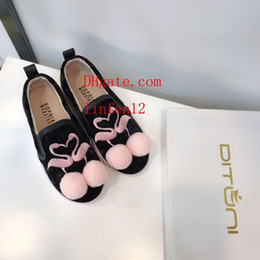 Baby Girl Summer Canvas Shoes Australia - summer children girls baby kids shoes Princess Shoes