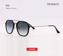 Glasses Sun Protection Australia - Brand Sale Factory Top Designer Square Sun Glasses Ladies Trendy Hot Vintage Retro Uv Protection Sunglass 4273 Eyewear Luxury Gafas