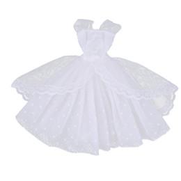 $enCountryForm.capitalKeyWord Canada - Stylish 1 6 BJD Fashion Doll Dress Form Wedding Dress Evening Gown Pettiskirt Garment for Barbie Doll Party Dancing Outfit White