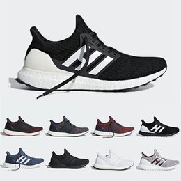 Chinese  Show Your Stripes Burgundy Orca Ultra boost 4.0 Running shoes Candy Cane Triple Black Primeknit ultraboost sports trainer men women sneakers manufacturers