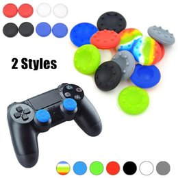 $enCountryForm.capitalKeyWord Australia - TPU Silicone Thumb Grip Stick Gamepad Protective Case 15 Colors Joystick Grip Cover For Sony Playstation 3 4 PS3 PS4 Xbox One 360 Controller