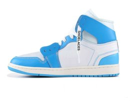 40ac1bfcb777 2019 Jointly Signed High OG 1s Chicago Mens Basketball Shoes UNC 1 Poder  Blue White Blue Red Sneakers North Carolina Women Trainers