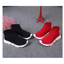 $enCountryForm.capitalKeyWord Australia - Children Pedal Shoes Casual Mesh Comfortable Flying Boys And Toddler Girls Socks Shoes Fashion Breathable Children Shoes