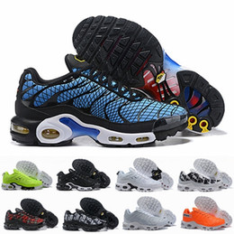 5453e8355e 2019 New Tn Plus Greedy OG Running Shoes For Men Tns Plus TN Se Orange Blue  Mens Designer Sports Sneakers Size 7-12