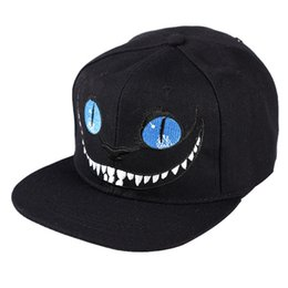 4f7f5dd155e Cheshire Cat Smile Cat Designer Dad Hats Embroidery Hip Hop Ball Caps Men  Women Hats Free Size