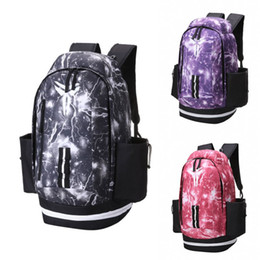 Fashion Kobe Basketball Backpack Large Capacity Black Lightning Outdoor  Bags 2019 New bMens Womens School Bag 3d155e168f