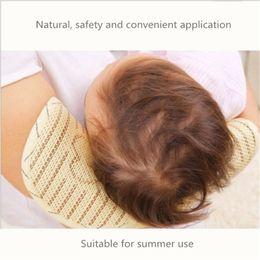 Hollow Fiber Australia - Natural plant fibers Nursing Pillow, Slip On Arm Breastfeeding Pillow for Newborns Suitable for summer use