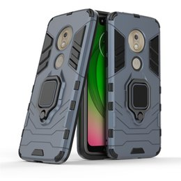 panther apple Canada - For Motorola Moto G7 Play Power E5 Case Phone Cover 360 Rotating Ring Kickstand Car Magnetic Mount Cover Case New Design Black Panther