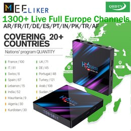 $enCountryForm.capitalKeyWord Australia - QHDTV 1year free for 4G32G H96 Max Android 9.0 TV Box RK3318 Dual-WIFI Newest Smart TV Arabic UK Belgium French IPTV Box
