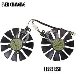 Asus Card Fan Australia - cooler fan 87MM Cooler Fan For ASUS GTX1060 1070 Ti RX 470 570 580 Graphics Card Everflow T129215SU PLD09210S12HH 28mm Cooling Fans