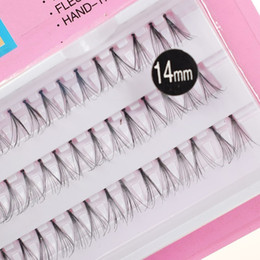 Individual False Eyelashes 14mm Australia - Fashion 8 10 12 14mm Professional Makeup Individual Eye Lashes Fake False Eyelashes Natural Eyelash Extension