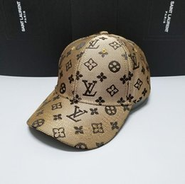 Venta al por mayor de 2019 icon Gorros bordados gorras hombres mujeres diseñador de la marca Gorra para hombres Sombrero de béisbol Gorras de golf Gorras hueso 5650