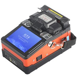 fiber fusion splicing NZ - FTTH Fiber Optic Welding Splicing Machine OpticalFiber Fusion Splicer A-81S with 9 Seconds Splicing Time