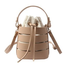 $enCountryForm.capitalKeyWord UK - Designer-Drawstring Bucket Bag For Women Mini Pu Leather Crossbody Bags Ladies Shoulder Bags Female Handbags Pure Color