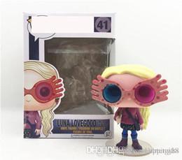 $enCountryForm.capitalKeyWord Australia - Sales products Sale HOT Funko Pop Luna Lovegood Vinyl Action Figure With Box 642 Gift Toy for kids Good Quality