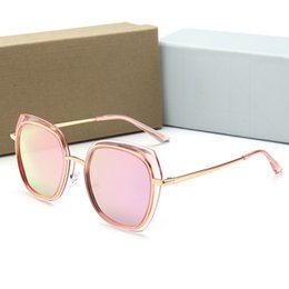 Glasses Sun Protection Australia - quality Glass lens Men Women Polit Fashion Sunglasses UV Protection Brand Designer Vintage Sport Sun glasses With box and sticker