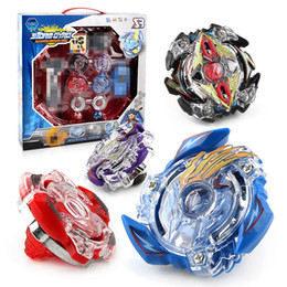 BeyBlade wholesale online shopping - Beyblade burst Beyblades Metal Fusion Arena bayblade D bey blade Launcher Spinning Top Beyblade Toys For Boy Children BB807D