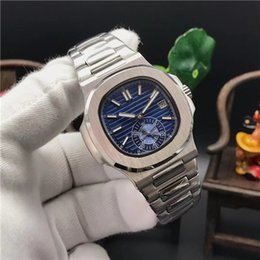 12 mens watches Australia - 12 Colour Top Mens watches 5980 1R Automatic mechanical Luxury stainless steel strap Blue dial High quality sapphire Men brands sport watch