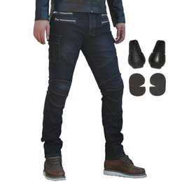 $enCountryForm.capitalKeyWord Canada - Men Motorcycle Riding Pants With Armor Cycling Denim Jeans Motocross Racing Knight Trousers Black Blue S-3XL