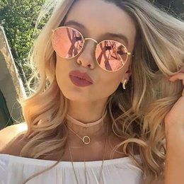 Sunglasses Shops NZ - 2019 Oval Classic Sunglasses Women Men Brand Designer Vintage Eyeglasses Street Beat Shopping Mirror Oculos De Sol