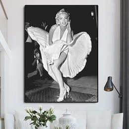 marilyn monroe canvas pictures NZ - Marilyn Monroe Art Canvas Poster Painting Wall Picture Print For Living Room Home Bedroom Decoration