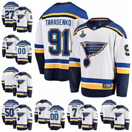 $enCountryForm.capitalKeyWord Australia - 2019 Men's Vladimir 91 Tarasenko St. Louis Blues Fanatics Branded Away Stanley Cup Final Bound Breakaway Player Hockey Jersey White