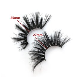 $enCountryForm.capitalKeyWord NZ - HOT 25MM-27MM 5D Mink Hair False Eyelashes A01 A02 A03 A04 A05 A06 Thick Exaggerated Models Hot Long Eyelashes Black Color False Eyelashes