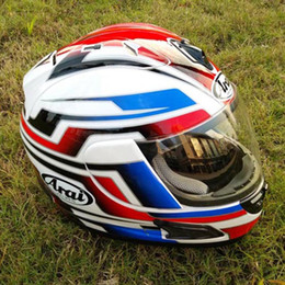 top motorcycle helmets Australia - Top ABS Material Men Motorcycle Helmet Racing Helmet Full Face For Open Face Vintage Capacete Casco