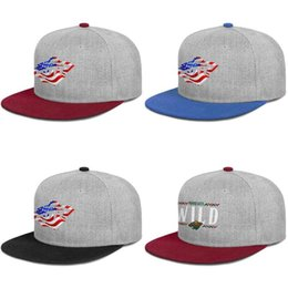 cups for printing Australia - Minnesota Wild ice hockey usa flag Unisex burgundy Hat Women's Street Dancing Trendy for Mens Trucker Baseball Cap Polo Style Cotton Cup