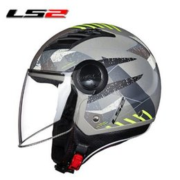 $enCountryForm.capitalKeyWord Australia - Original LS2 OF562 airflow open face motorcycle helmet jet scooter half face motorbike helmets summer capacete casco