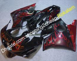 $enCountryForm.capitalKeyWord Australia - Bodywork Motorcycle Fairing For Honda CBR600 F2 1991 1992 1993 1994 CBR 600 600F2 91 92 93 94 Sport Motorbike Red Flame ABS Fairings
