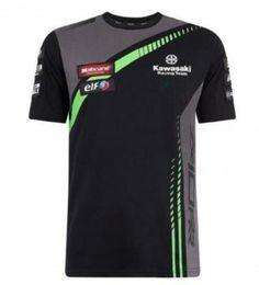 Kawasaki Ninja Green Pink UK - MotoGP Racing Season Short-sleeved Shirt For Kawasaki Racing Team Motorbike Motocross Ninja 300 T-shirt Jersey